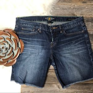 LUCKY BRAND Denim Shorts 8/29 Abbey Short